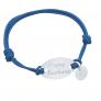 Bracelet ovale et mini charm