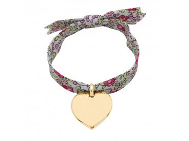 Bracelet coeur sur Liberty
