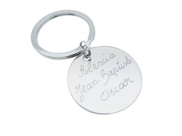 Porte-clés personnalisé médaille