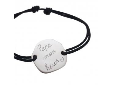 Bracelet galet pour homme