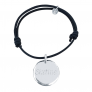 Bracelet charms argent