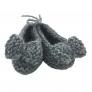 Mes premiers chaussons gris