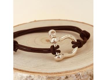 Bracelet manille pour homme