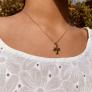 Collier personnalisé croix
