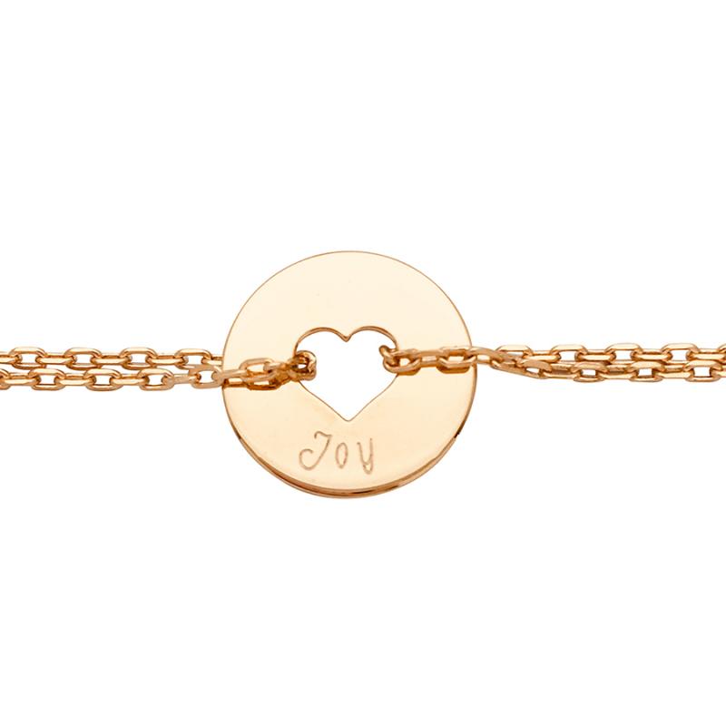 Bracelet cible sur chaîne