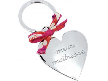 Porte-clés coeur & Liberty