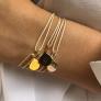 Bracelet personnalisé mini médaille