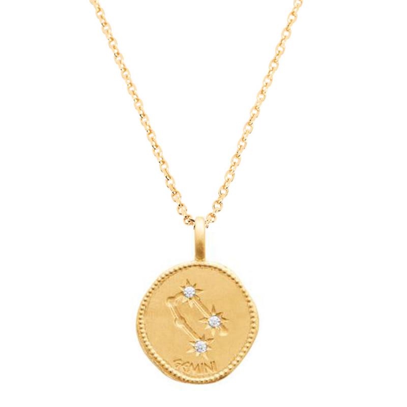 Collier médaille astrologique