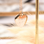 Sautoir coeur