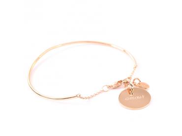 Bracelet jonc charms enfants