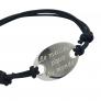 Bracelet personnalisé ovale pour lui