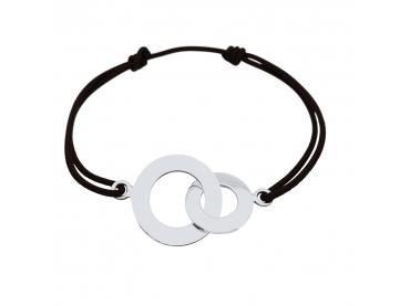 Bracelet anneaux liés