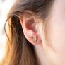 Boucles d'oreille ananas