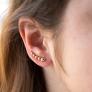 Boucles d'oreilles perlées