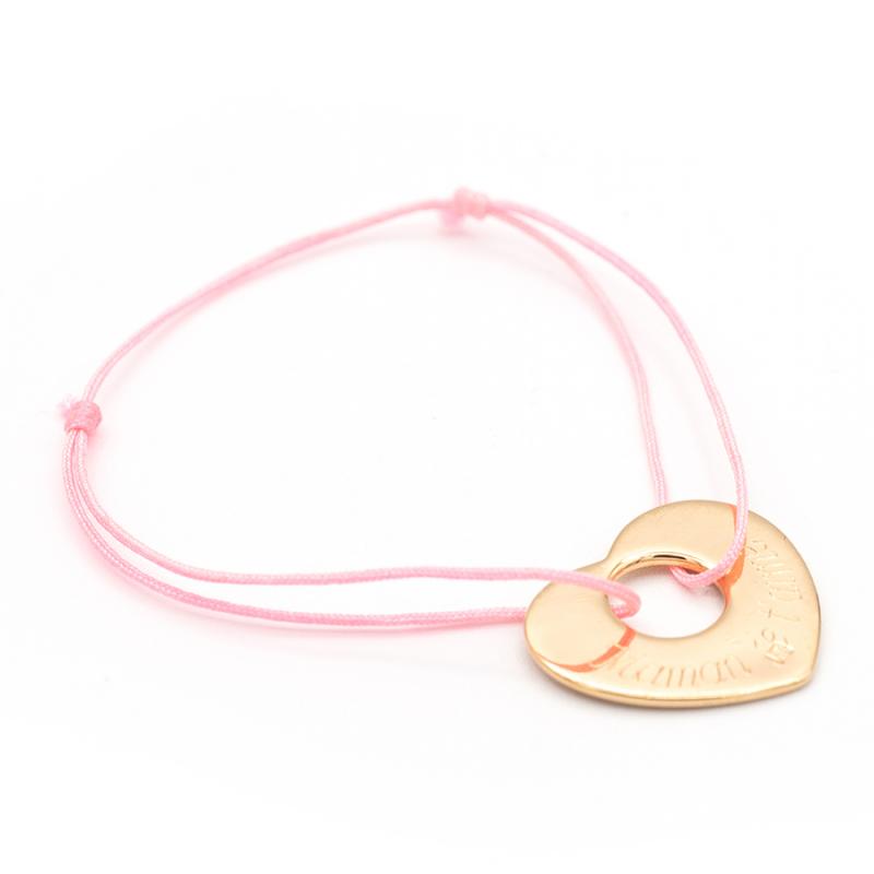 Bracelet coeur percé