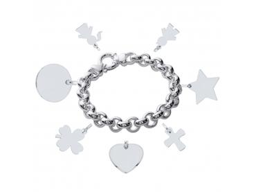 Bracelet chaîne bijou argent