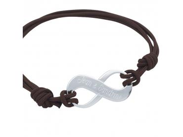 Bracelet personnalisé infini