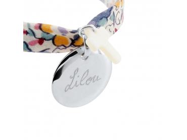 Bracelet Liberty médaille et nacre
