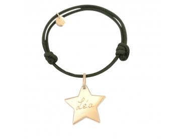 Bracelet personnalisé étoile