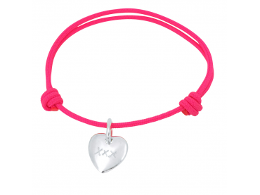 Bracelet personnalisé petit coeur