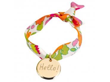 Bracelet médaille sur Liberty