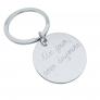 Porte clés médaille