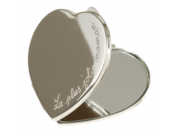 Miroir coeur personnalisé