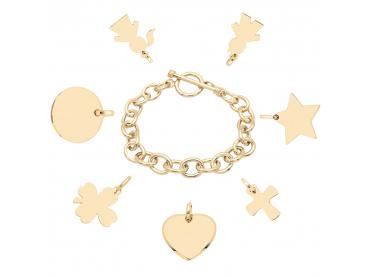Mon bracelet chaîne bijou plaqué or