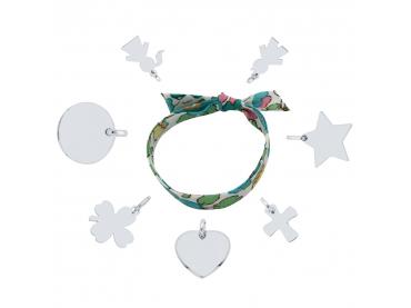 Mon bracelet Liberty et charms argent