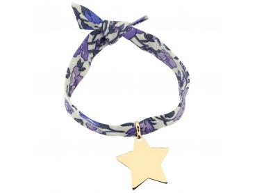 Bracelet étoile sur Liberty
