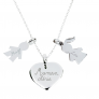 Collier charms argent