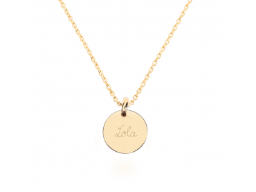Collier mini médaille