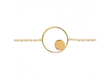 Bracelet pastille et cercle